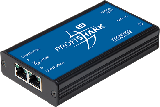 ProfiShark™ 1G: 10/100/1000 Ethernet into USB 3.0